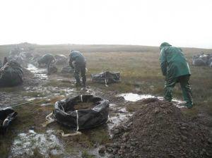 Martcrag Moor - work started in 2009