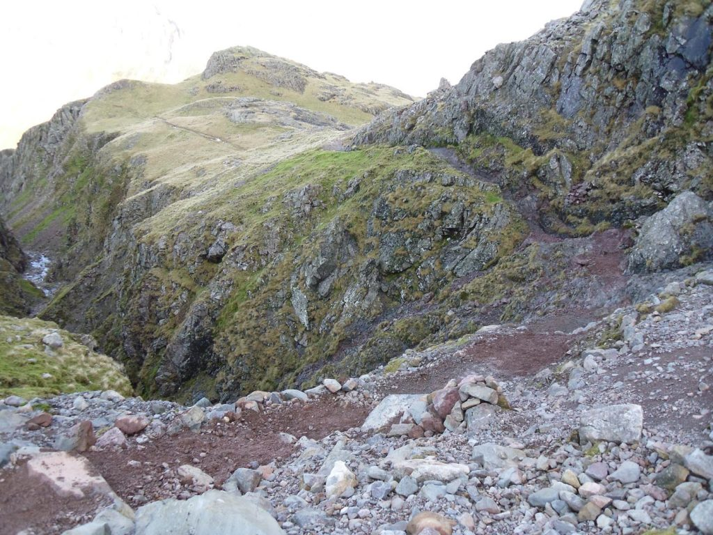 Path at the head of Piers Gill