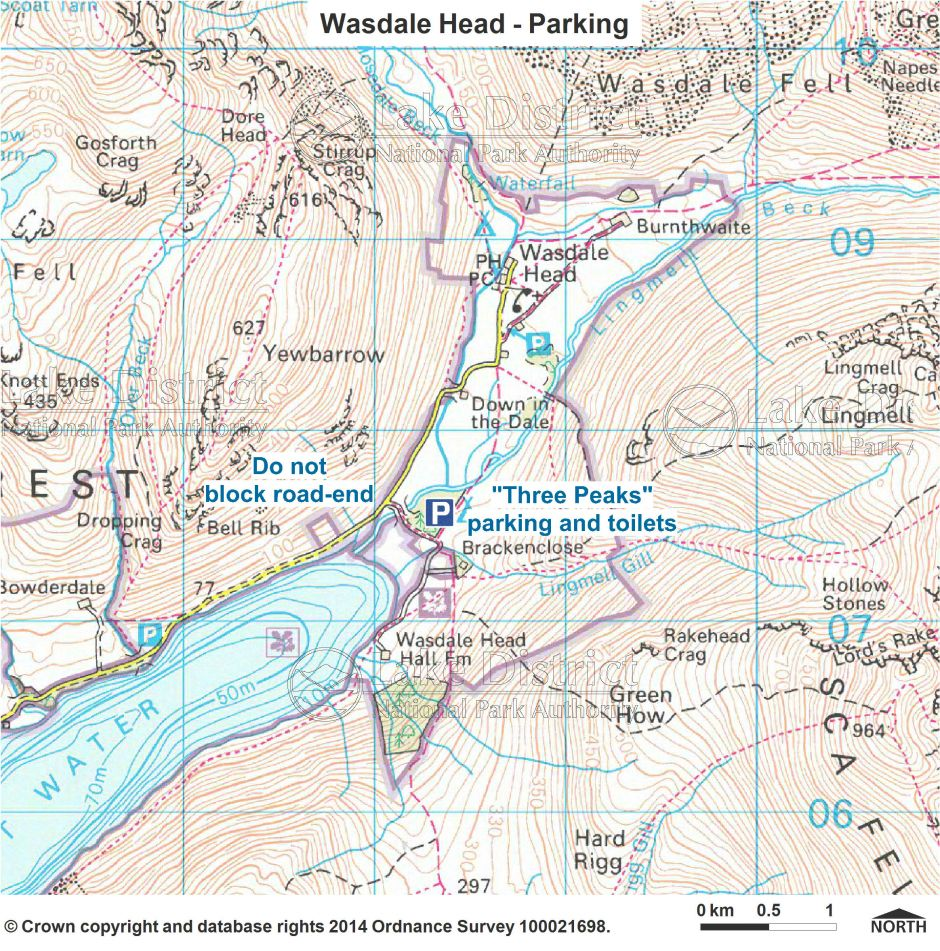 Wasdale Head Parking