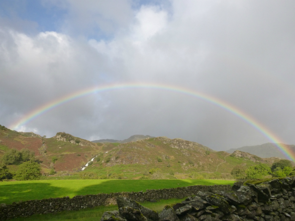 Rainbow over Sourmilk Gill