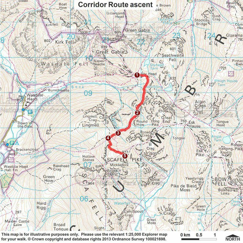 Corridor Route Ascent