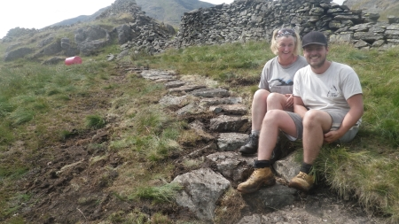 National Trust Fix the Fells upland path working holidays